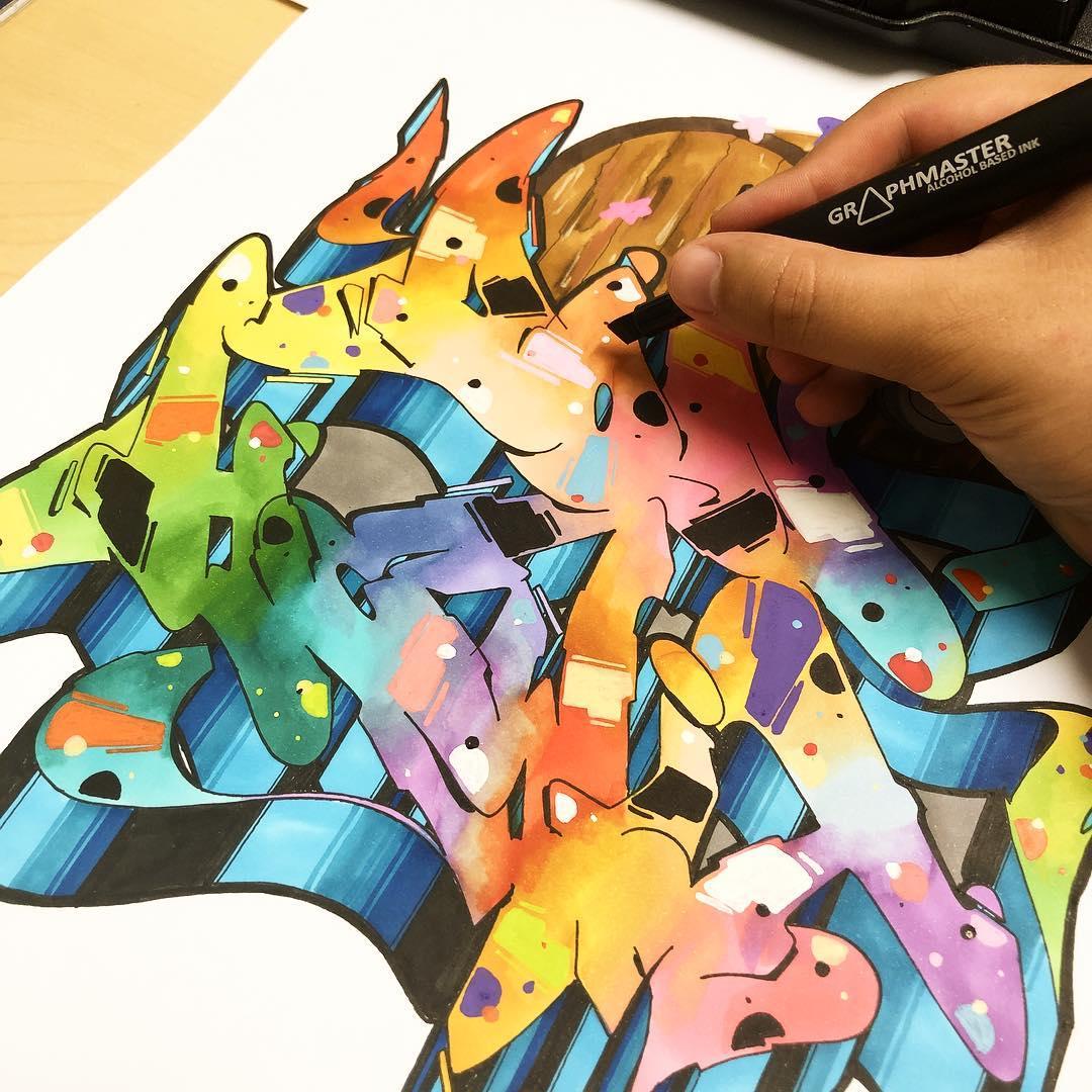 25+ Graffiti Drawings to Inspire You