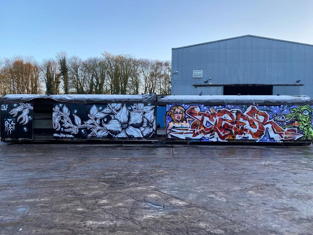 Graffiti Video: Tizer X ThisOne - SprayDays Junkyard
